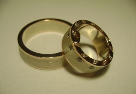 золотые свадебные кольца цена и фото