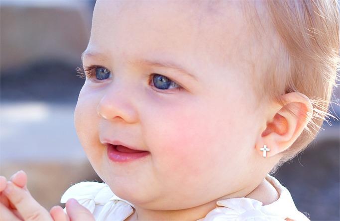 детские золотые сережки заказать киев