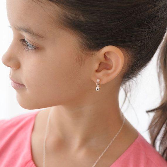 золотые сережки для девочки заказать киев