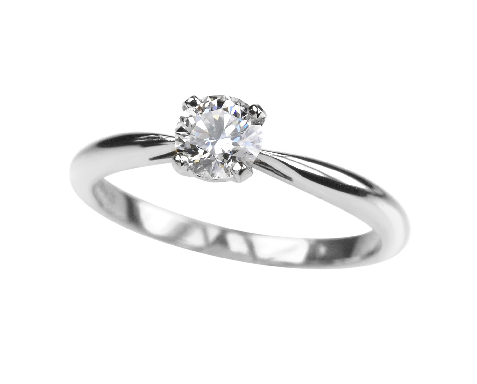 золотые кольца с бриллиантом фото и цены