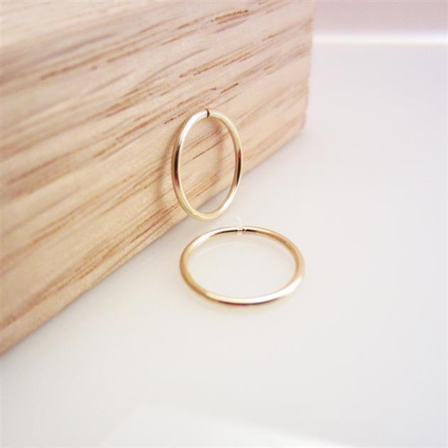золотые сережки кольца конго для девочки