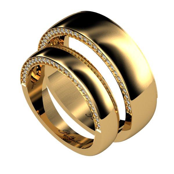 830710a3ba43 Каталог обручальные кольца из золота с камнями в Киеве - Ювелирная ...