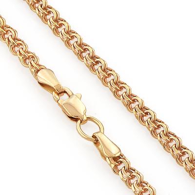 Плетений браслетов из золота 37